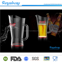 Durable and hot selling plastic fruit pitcher, plastic water pitcher, plastic beer pitcher
