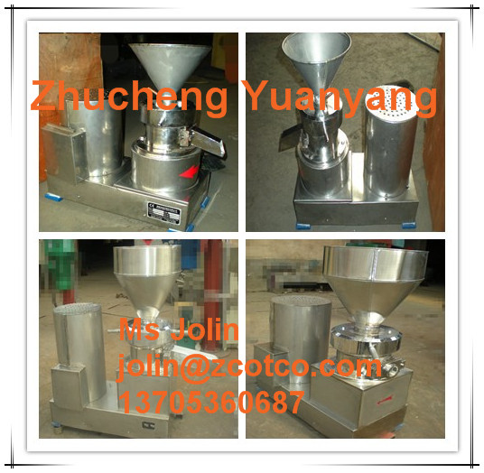 100kg/hour Industrial Peanut butter Making machine/ Peanut butter Grinder machine/ Sesame paste Colloid Mill grinding machine