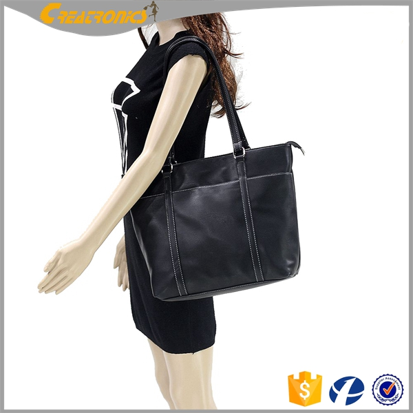 <strong>Designed</strong> For Busy Working Business Can Be Beautiful Laptop Shoulder Computer Bags For Lady Leather Laptop Bag