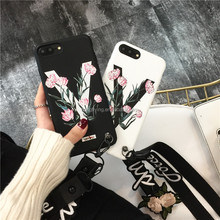 Hongflying Manufacturer for iPhone 7/6 Leather Case Wrist Case for iPhone 7/7 Plus Case Back Cover Coat Coins Fundas