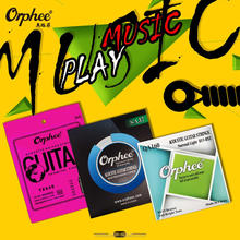 Orphee high quality acoustic guitar strings