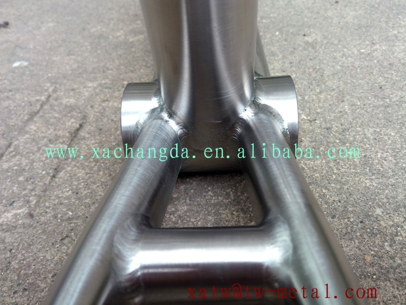 xacd made tandem road bike frame tandem mtb bike frame customize titanium 700C bike frame