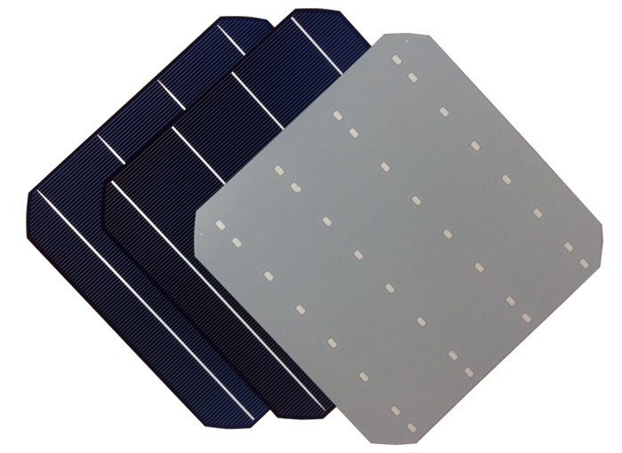 2015 Hottest 156x156 mm high efficiency A grade 3BB/4BB monocrystalline solar cell made in Taiwan