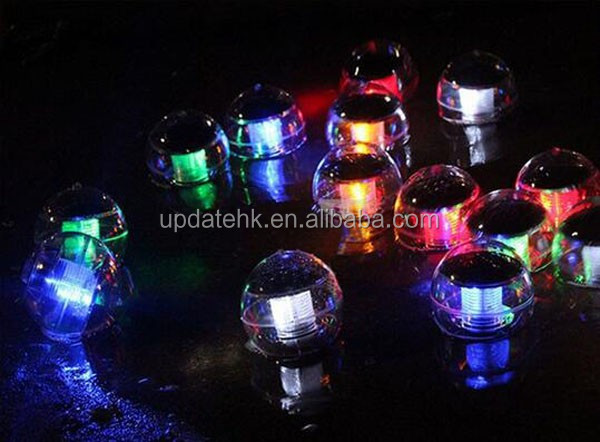 Swimming Pool Floating Light Color Changing Globe Round Solar Ball Light