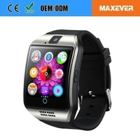 TPU Strap Material Phone SMS Bluetooth Synchronization DZ09 Smart Watch Phone