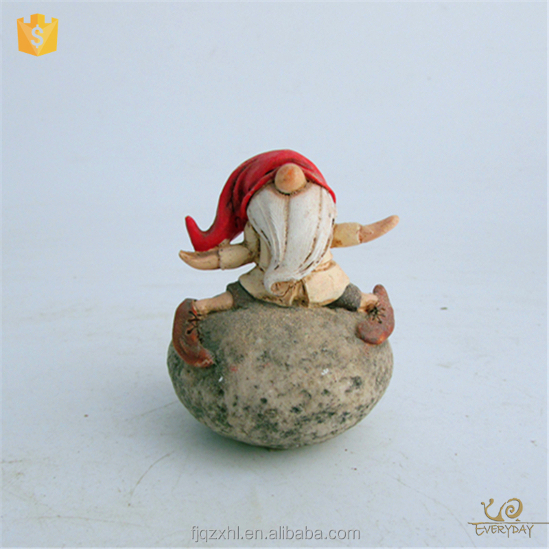 ED8076A Classy Gnome Statues Garden Gnome Mold Manufacturers Small Resin Gnome Figurines