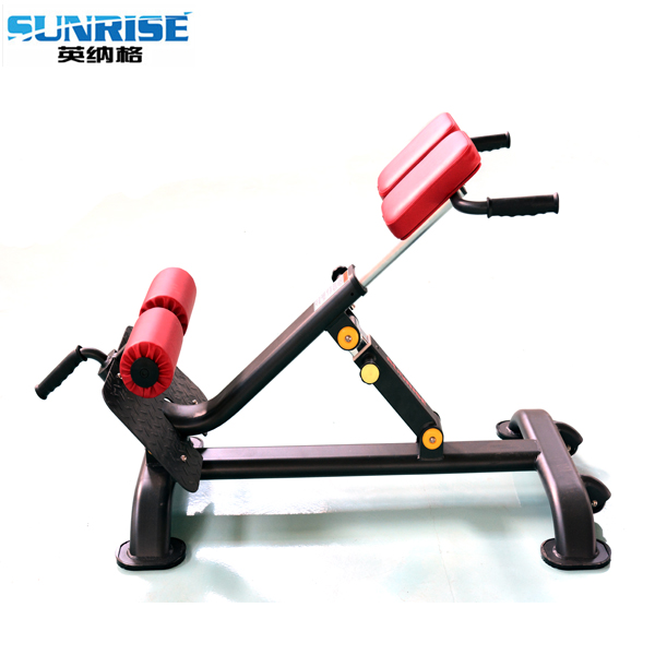 Strength gym equipment roman chair, back extension gym machine