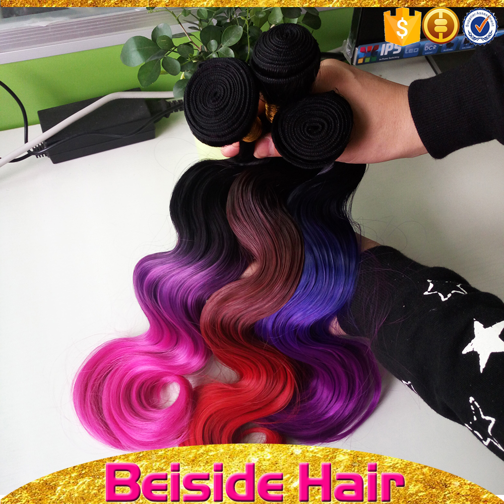 BSD High quality synthetic hair, japanese synthetic hair weave