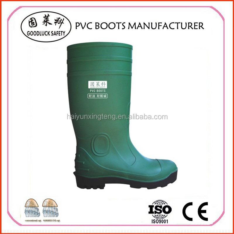 Chemical Resistance Safety PVC Boots Footwear from China