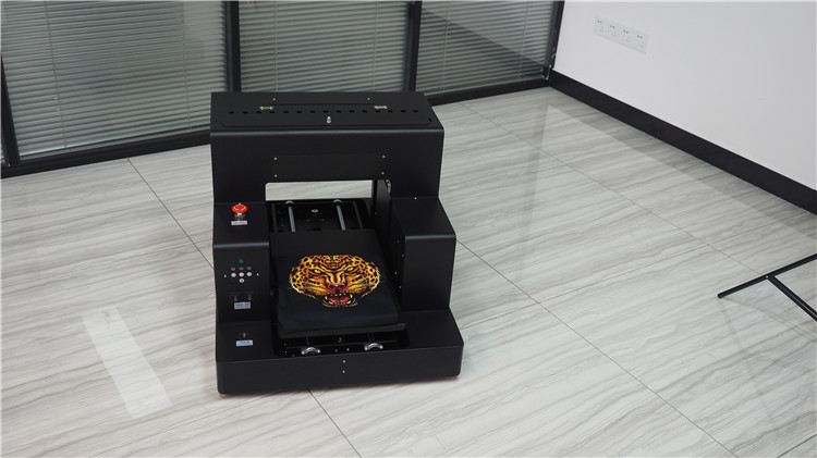 DTG printer digital textile printer t-shirt silk wool cotton printing machine A3 DTG Printer with CE
