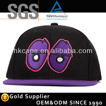 New Big Eye Embroidery Snapback Hat Baseball Cap