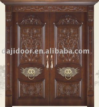 Carved Villa Main Entrance Door DJ-Y901