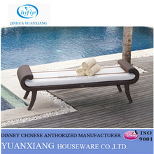 YuXiang wicker chaise lounge outdoor swimming pool bed