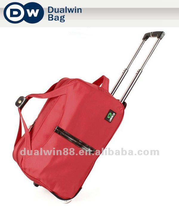 2012 Fashion Trolley Duffle Bag Trolley Travelling Bag