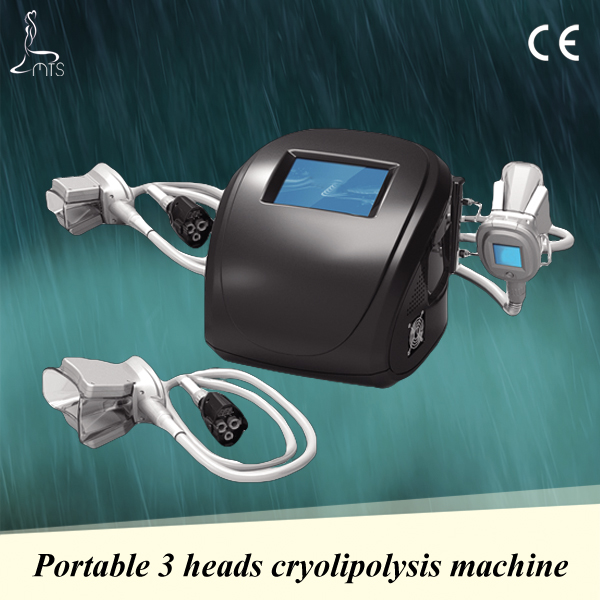 Quick Fat Reduction Portable Cryolipolysis Cool Shaping Machine 3 cryo handles for different body parts