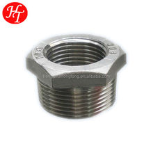 stainless steel hexagon bushing pipe fitting