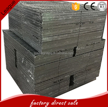 press-welded cast iron grate including frame and fixing