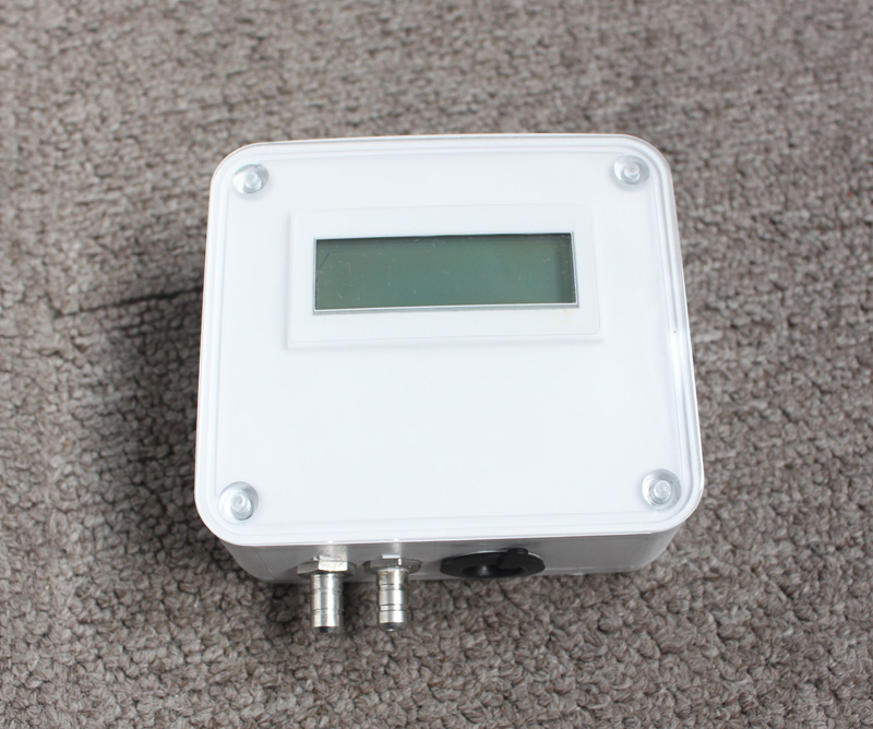 High accuracy micro low adjustable Differential pressure transducer ,sensor for air gas with LCD display