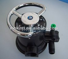 Manual water flow control Valves for water treatment plant