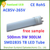 Ecology friendly warm white AC85-265V SMD2835 CE ROHS excellent pipe porn tube/ steel tube 8 distributor