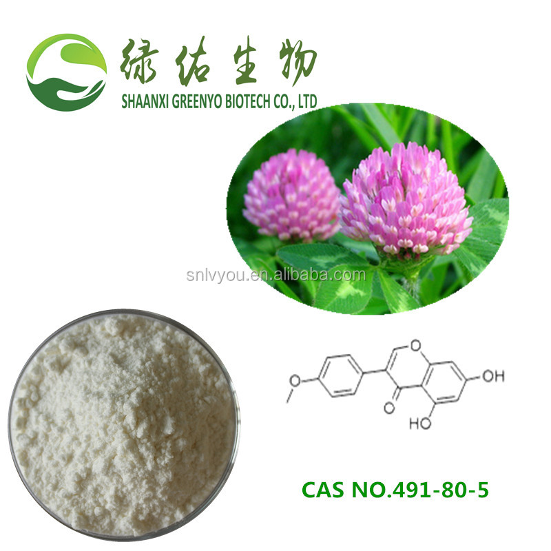 Factory supply CAS No 491-80-5 Biochanin A powder Red Clover Extract
