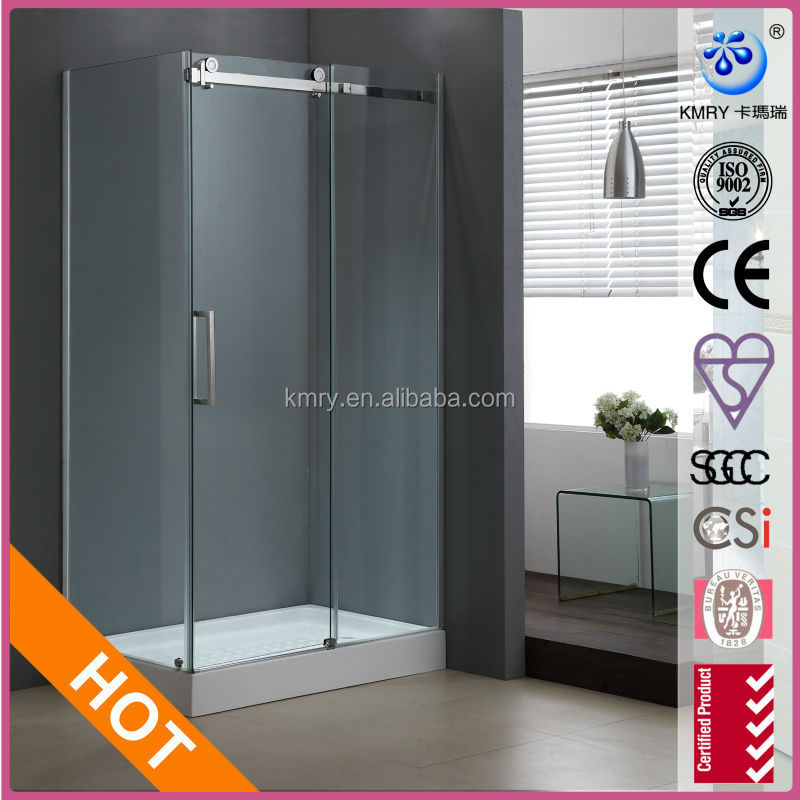 KT8115 Rectangle Stainless Steel Shower Room, 3 Panel Sliding Shower box
