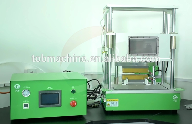 Pre-sealing static all-in-one machine for battery