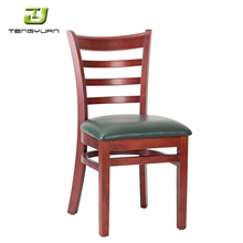 Wood Frame Fast Food Restaurant Dining Chairs
