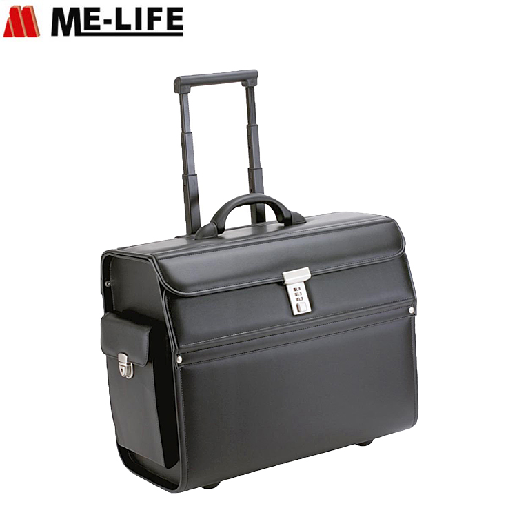 Business luggage travel suitcase trolley set office pilot case