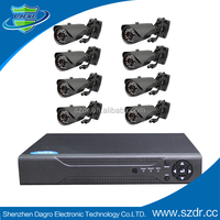 8chs 720P Ahd Security Camera Kit with DVR