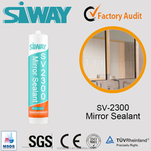 Neutral Silicone Sealant with Good Adhesion to Glass Mirror