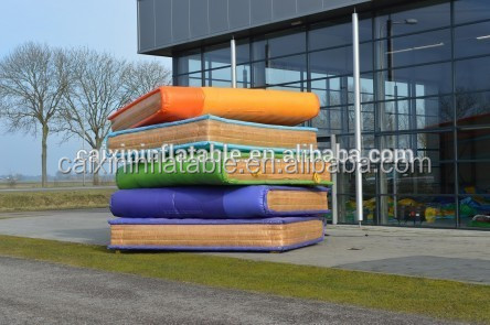 inflatable giant book/ inflatable customized book model/ iniflatable cartoon book for advertising