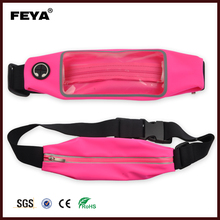 Adjustable Fitness sport Waist Bag / Running Belt /Travel Money Pouch