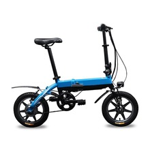 TOP-618 Rich Bit Lightweight Small Wheel Mini Foldable Electric Bicycle One-second 12 14 Inch Aluminum Folding Bike