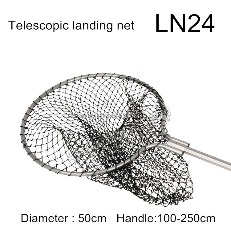 Australia Light 2 sections telescopic folding fishing landing net