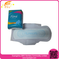 Net surface anion ladies sanitary pads for feminine