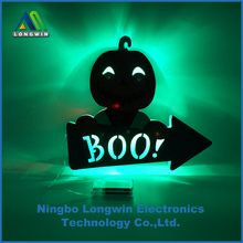 LED pumpkin night light with changing color