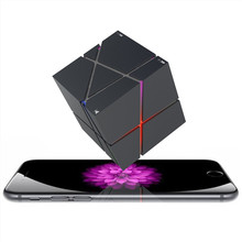 Portable HIFI Bluetooth Speaker LED Cube Altavoz Stereo Speakers Super Bass Caixa Se Som Sound Box Hand Free for Phones