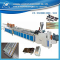 PVC plastic tongue and groove profile production line
