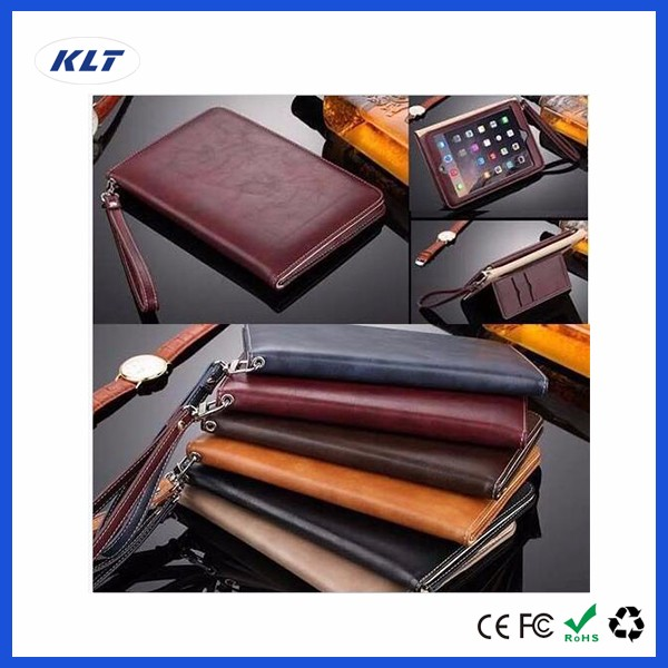 KLT OEM ODM Customized Design Leather PU Case For iPad Air 1 2 3 For iPad Mini 1 2 3 4 Pro For Macbook