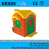 plastic baby outdoor playhouse for preschool girls and boys