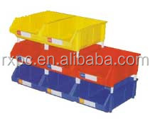 Plastic box for storage and sorting industry accessories and tools