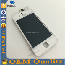 Grade AAA original pass lcd display for iphone 4s screen with digitizer for iphone4s touch screen