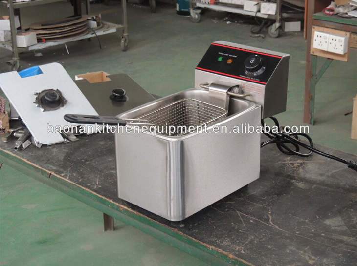 Electric potato deep fryer commercial electric fryer for Electric fish fryer