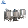 Hot sale two vessel 1000 liter brewery commercial brewing beer equipment