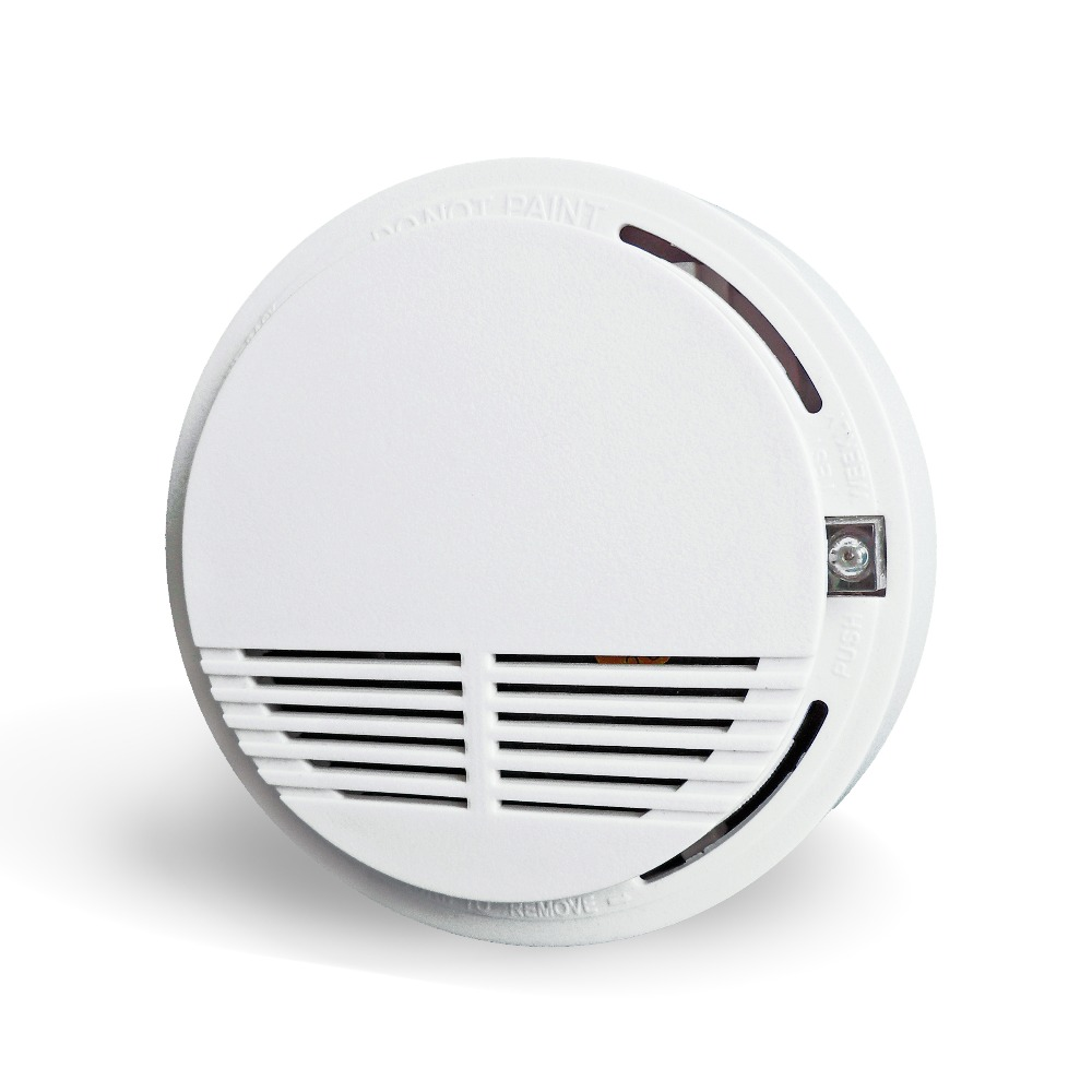 Fire alarm stand alone photoelectric smoke detector for alarm system DC9V