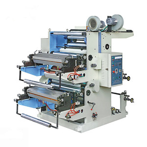 High Speed two color flexography printing machine