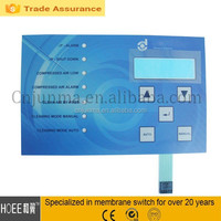 Good quality Functional Membrane tactile foil Keypads with Circuit Printed