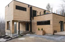 Modern prefabricated wooden green cottage house prefabricated wooden house ready to make a simple wooden house easy to assemble