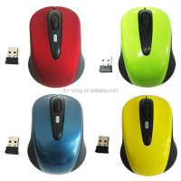 High quality Foldable colorful 2.4G wireless mouse